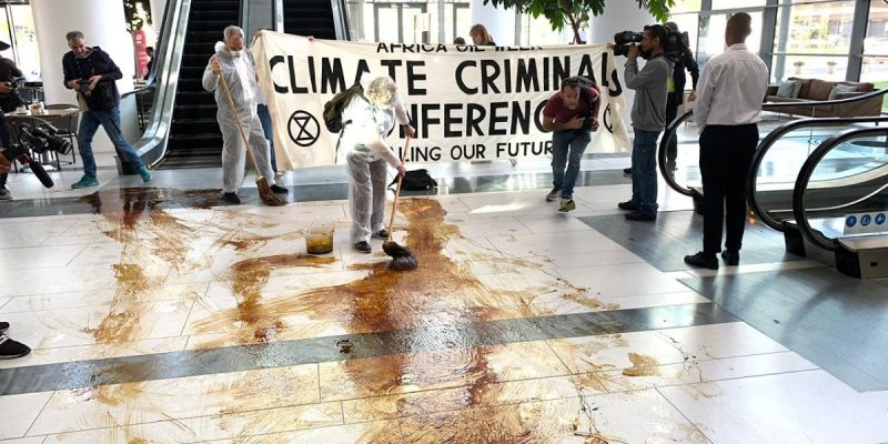Confronting Climate Criminals At Africa Oil Week
