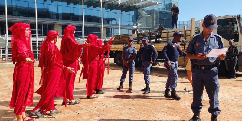 XR Cape Town and Partners Heap Shame on Regional Coal Conference